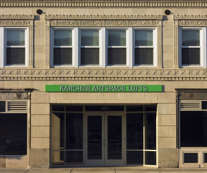 Karcher Building Converted to Artspace Lofts