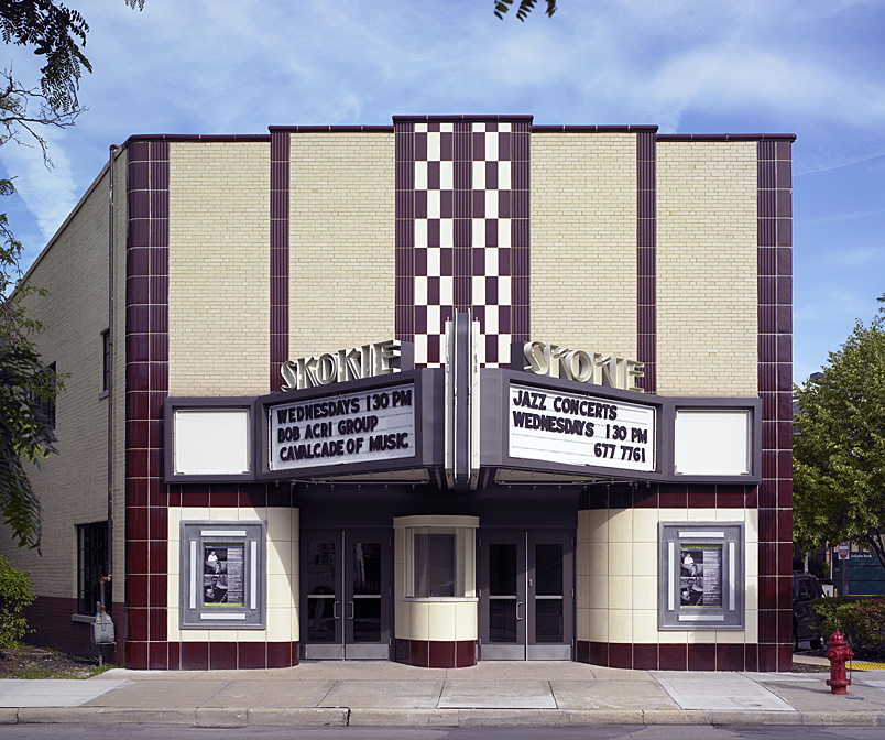 Skokie Theater Masonry Restoration