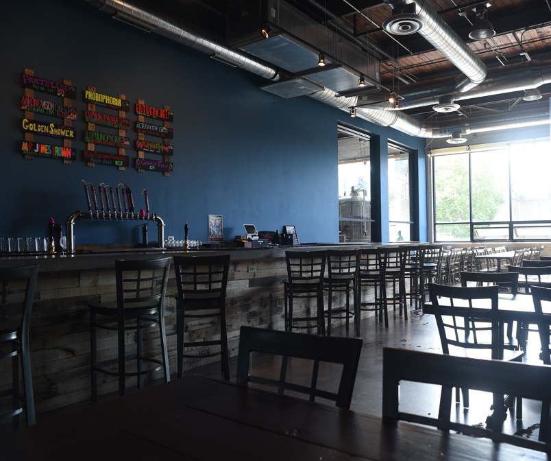 Alarmist Brewing Tap Room