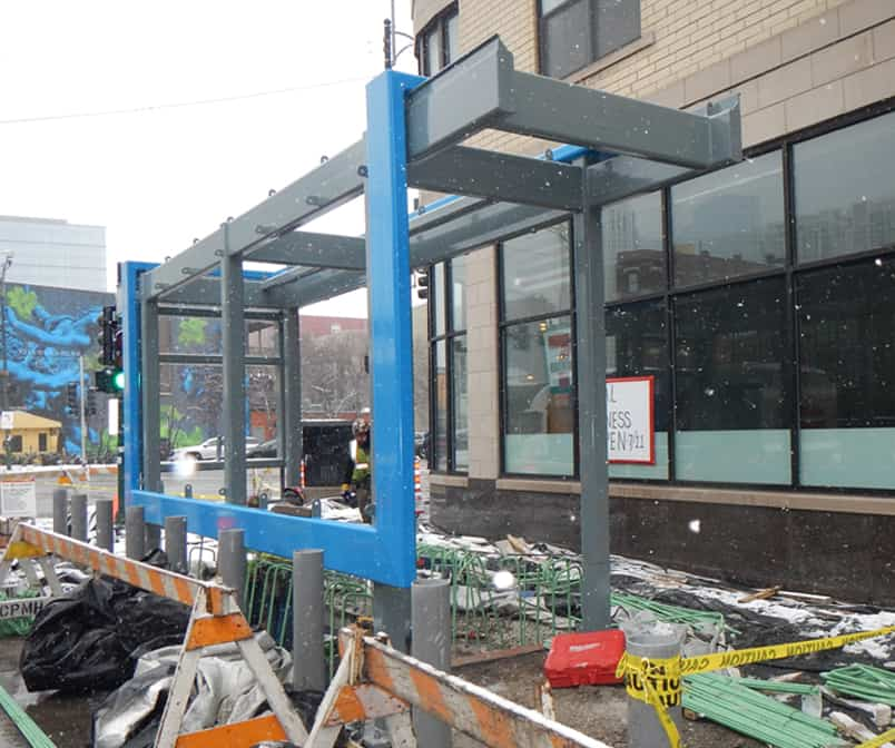 CTA Grand, Chicago and Division Station Renovations